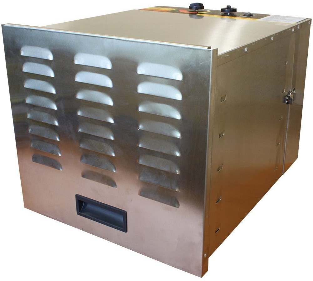 cooks club stainless steel metal food dehydrator